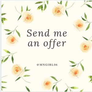 I'm always open to offers 😊